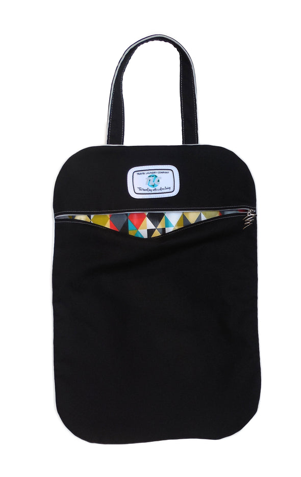 SL- Geometric Slicker Laundry Bag