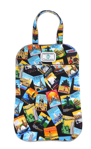 LB - Slicker Postcards Laundry Bag