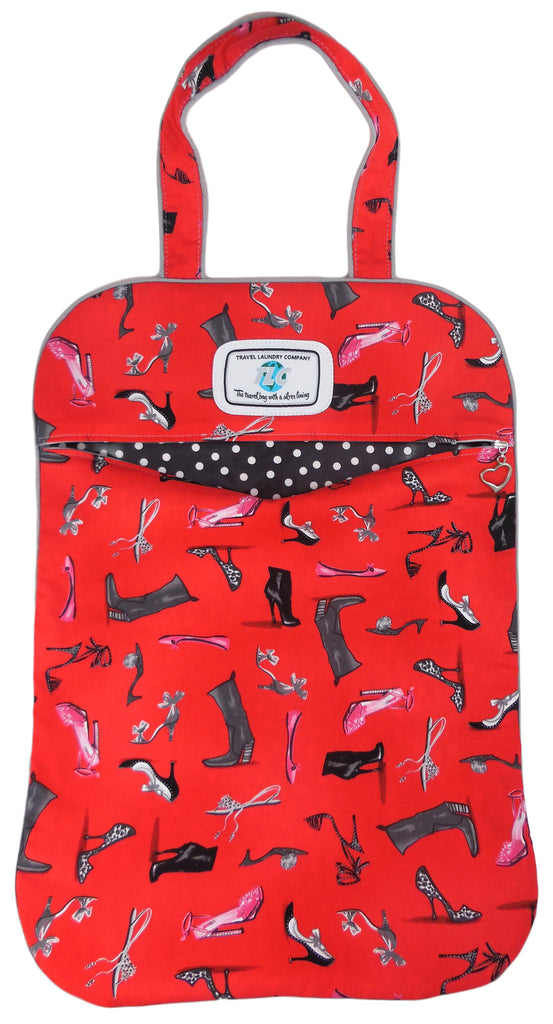 SL Shoes Galore (Red) Laundry Bag