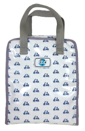 TBSLH- Bicycle Blues Hanging Toiletry Bag