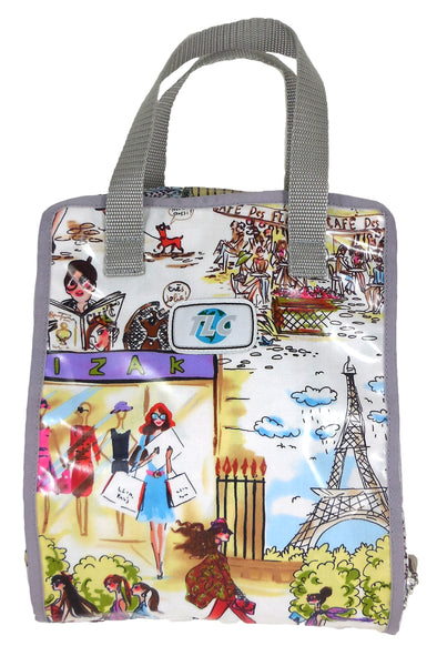 TBSLH- I Love Paris Hanging Toiletry Bag