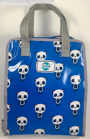 TBSLH-Panda Blue Hanging Toiletry Bag