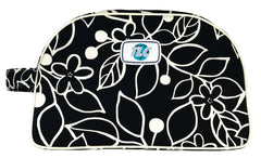 TBSL - Black and White Flower Toiletry Bag