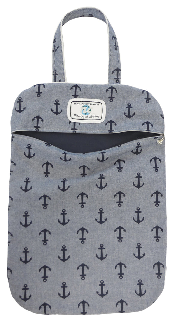 ULW- Anchor's Away Ultra Lightweight Laundry Bag