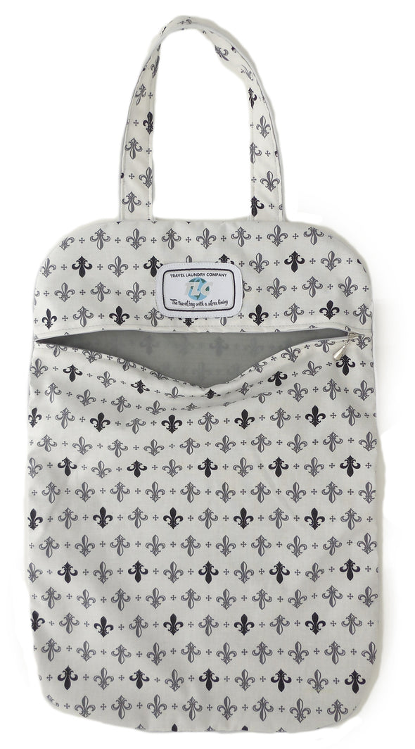 ULW- Fleur De Lis Ultra Lightweight Laundry Bag