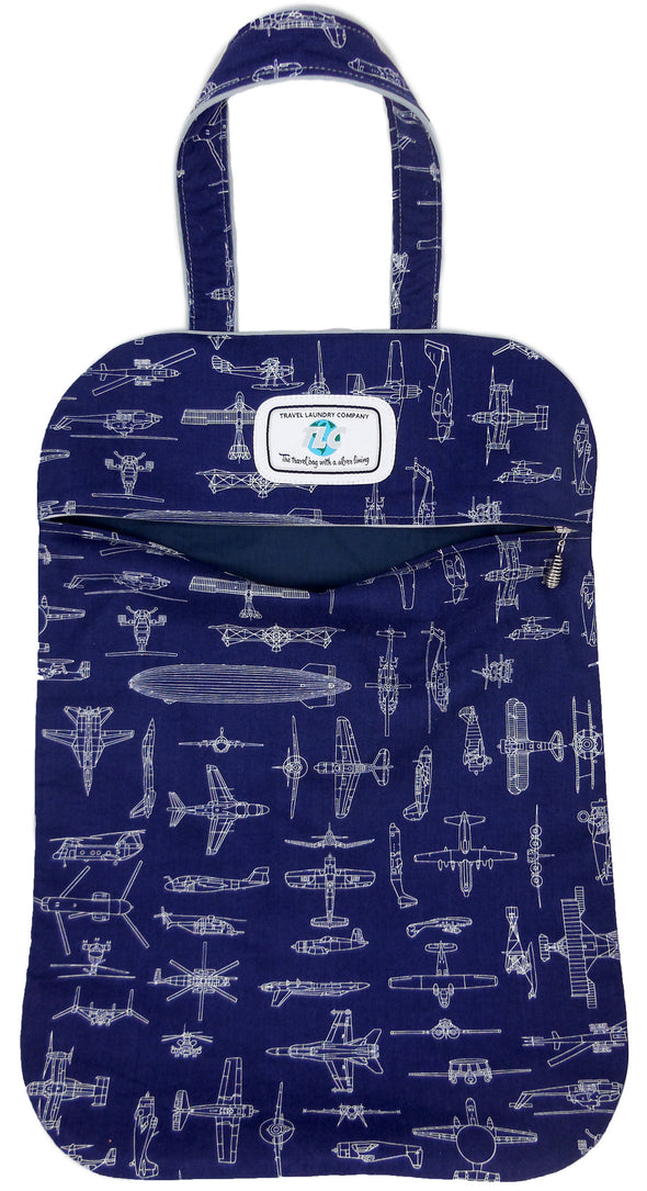 Ultra Lightweight History of Flight Laundry Bag