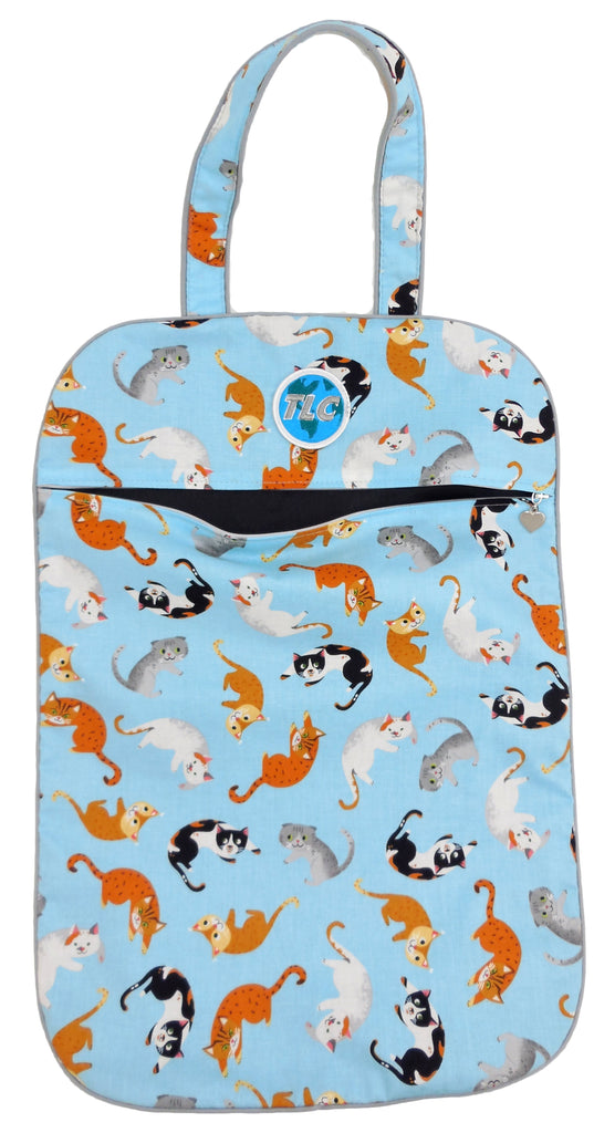 ULW - Kitty Cat (Blue) Bag