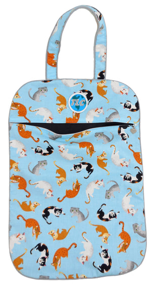 Ultra Lightweight Kitty Cat Laundry Bag