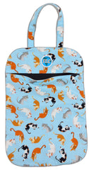 ULW Kitty Cat (Blue) Laundry Bag