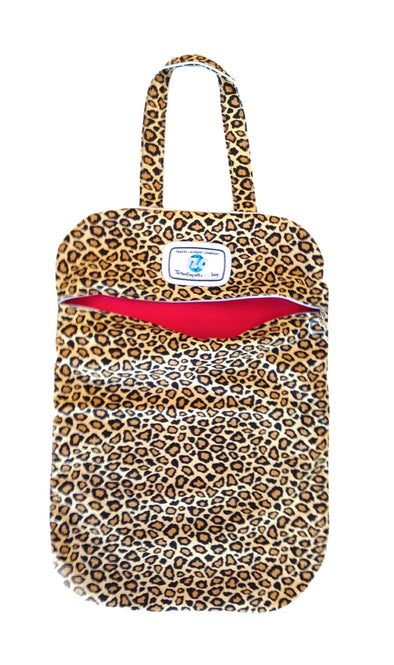LB - Lightweight Leopard Print Laundry Bag
