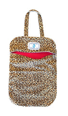 LW  Leopard Print Bag (Hot Pink)