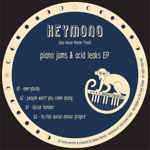 Keymono, House Master Flash - Piano Jams & Acid Leaks EP