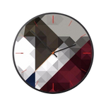 horloge murale design illusion d'optique