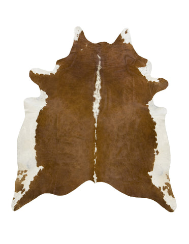 Hereford Brown Cowhide Rug - L
