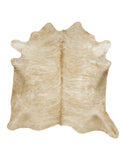 Large Light Brown Brindle Cowhide Rug