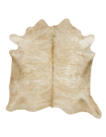 Light Brown Brindle Cowhide Rug - L