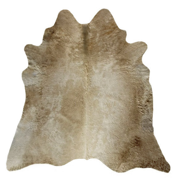 Large Champagne Cowhide Rug