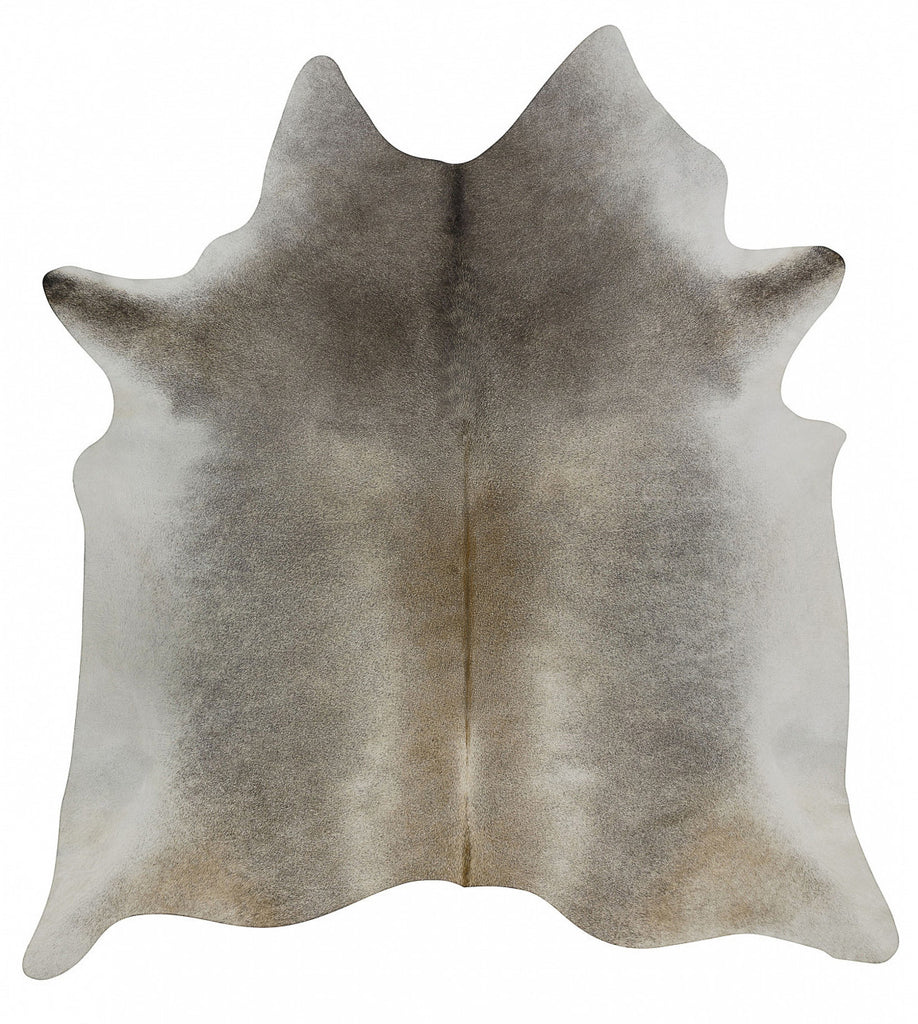 Dark Gray Beige Solid cowhide XL