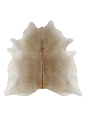 Gray Brown Cowhide Rug - XL