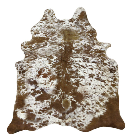 Longhorn Brown Cowhide Rug - L