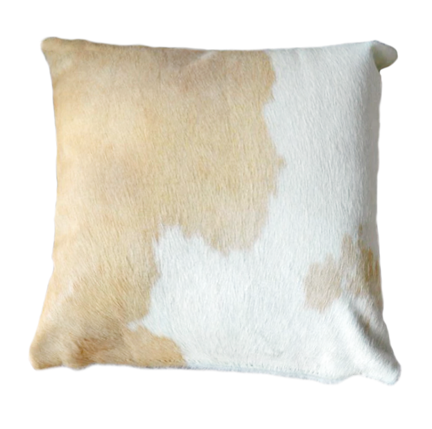 Palomino and White pillow