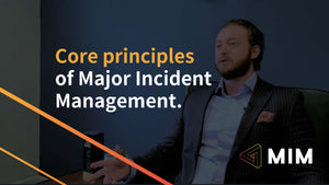 Core Principles of Major Incident Management