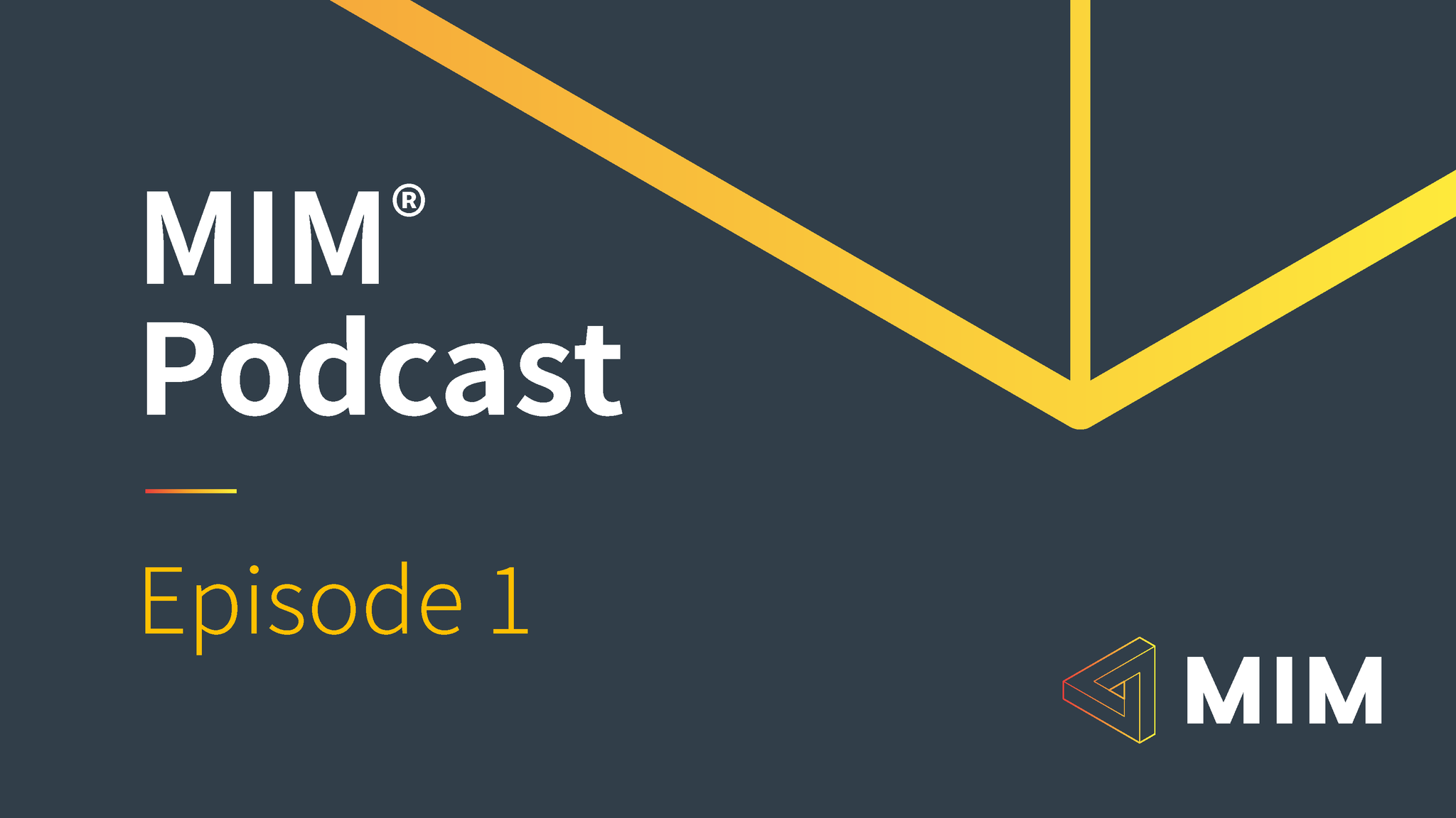MIM Podcast: Episode 1 Nick Coates, Symantec