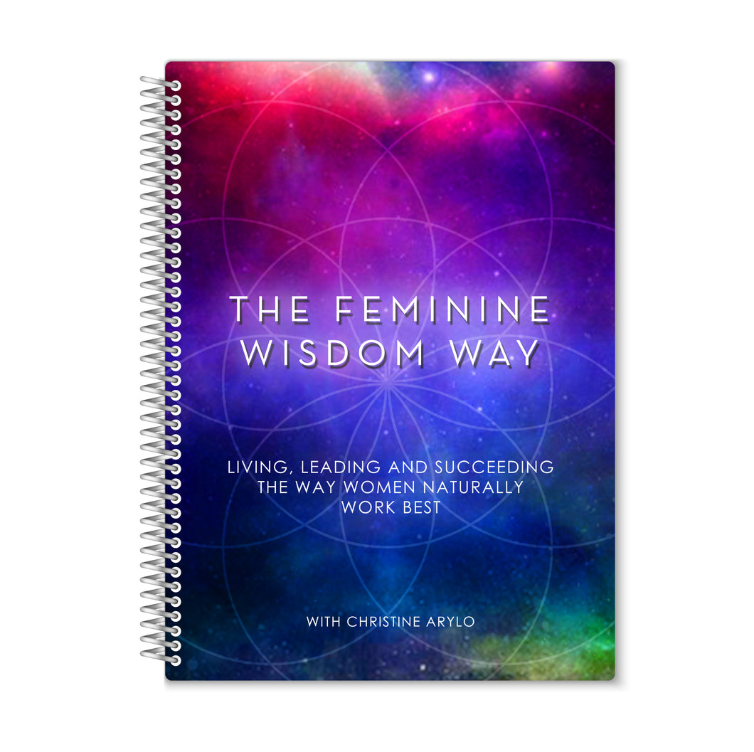 Feminine Wisdom Way Journal Cover