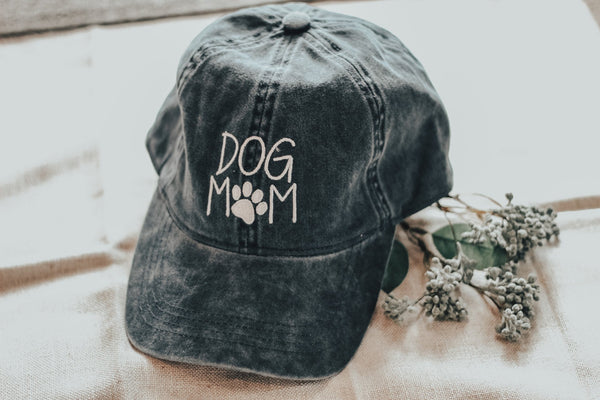 Dog Mom Baseball Hat - Lucie & Willow Boutique