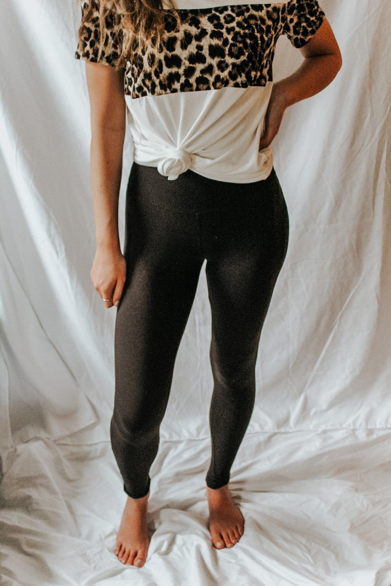 Buttery Soft Black Leggings - Lucie & Willow Boutique