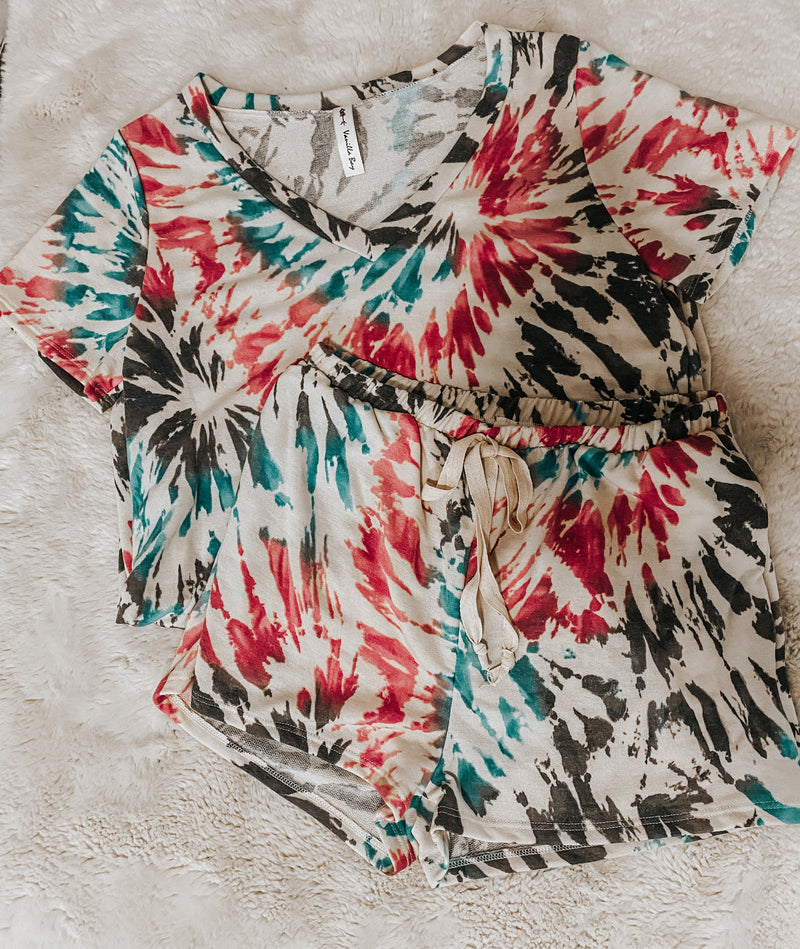 Tie Dye Set - Lucie & Willow Boutique