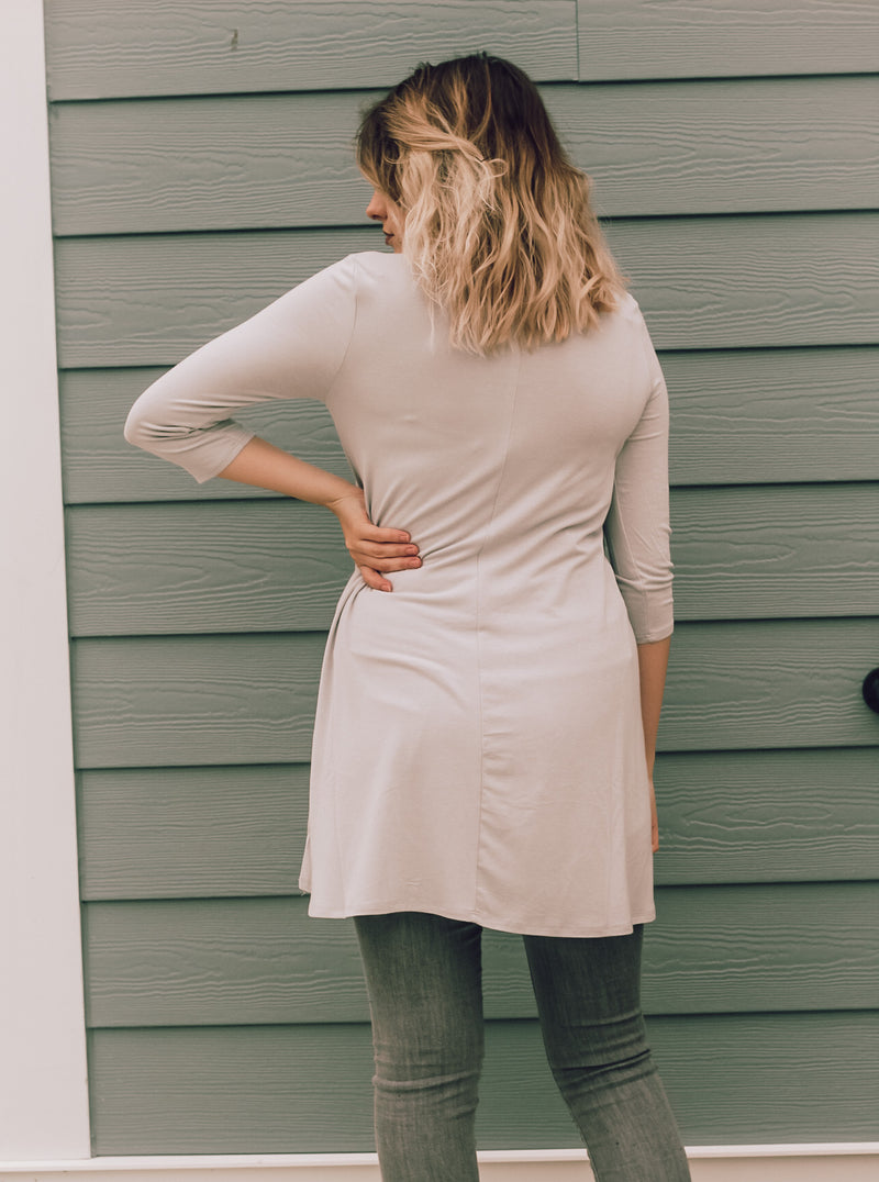 Light Gray Tunic