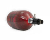 AeroLite Carbon Fiber Tank - 68ci / 4500psi  - Red