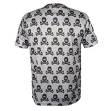 All Over Gray Skulls - DryFit