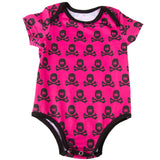 All Over Pink/Black - Baby Onesie