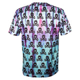 All Over Tie Dye Skulls - DryFit