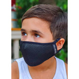 YOUTH - FLTRD Air - Black - Carbon Filtered Face Mask