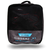 Diggerz_X 1.5 Hightop Cleats - Black/Red