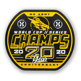Dynasty 2020 Champs - Velcro Patch