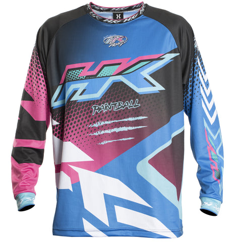 Edge - Blue/Pink - Retro Jersey
