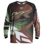 Edge - Brown/Olive - Retro Jersey