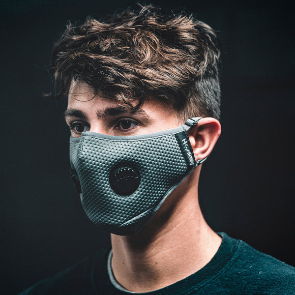 FLTRD Air - Grey - Carbon Filtered Face Mask