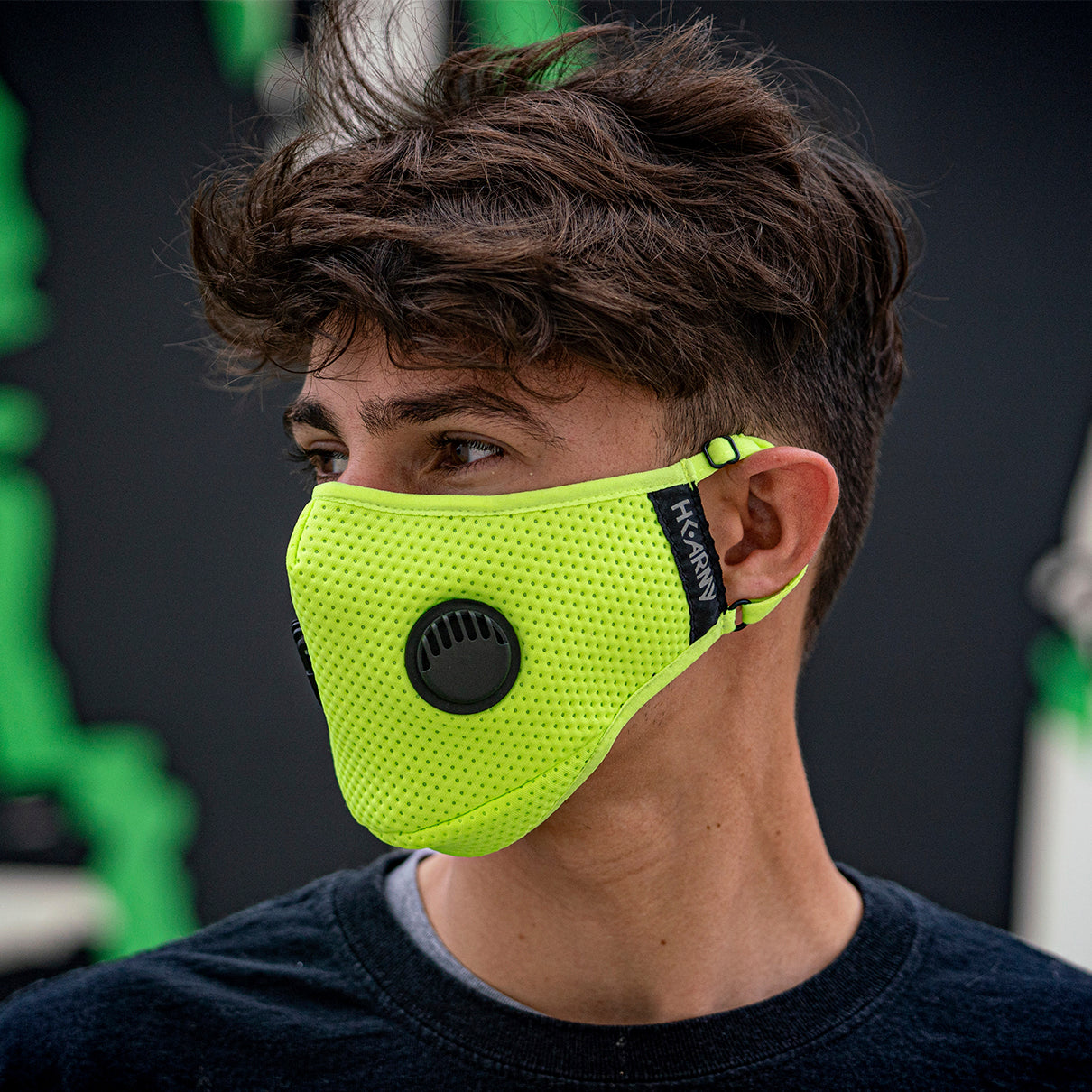 FLTRD Air - Neon Green - Carbon Filtered Face Mask