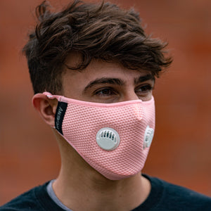 FLTRD Air - Pink - Carbon Filtered Face Mask