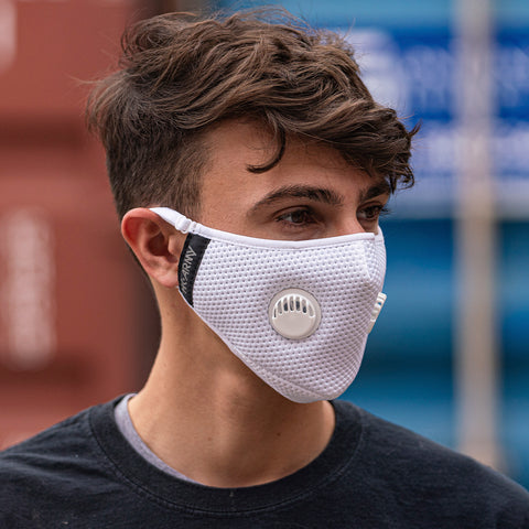 FLTRD Air - White - Carbon Filtered Face Mask