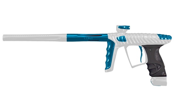 HK LUXE X - Dust White/ Teal