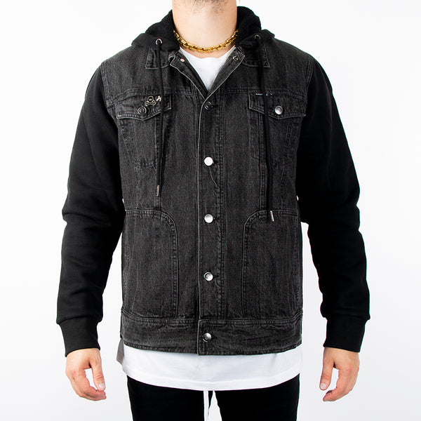 Collide Denim Jacket w/ Hood