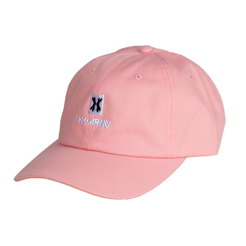 HK Army - Dad Hat - Block Logo - Pink