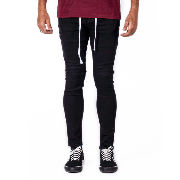 Jet Black - Denim Pants