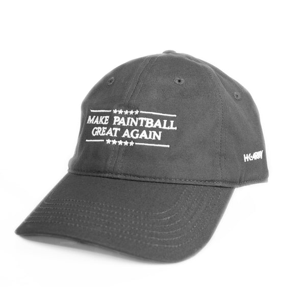 HK Army - Dad Hat - Make Paintball Great - Gray